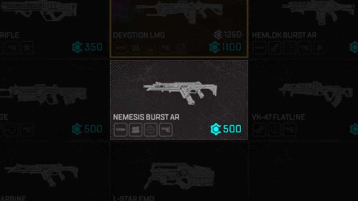 Nemesis Burst AR