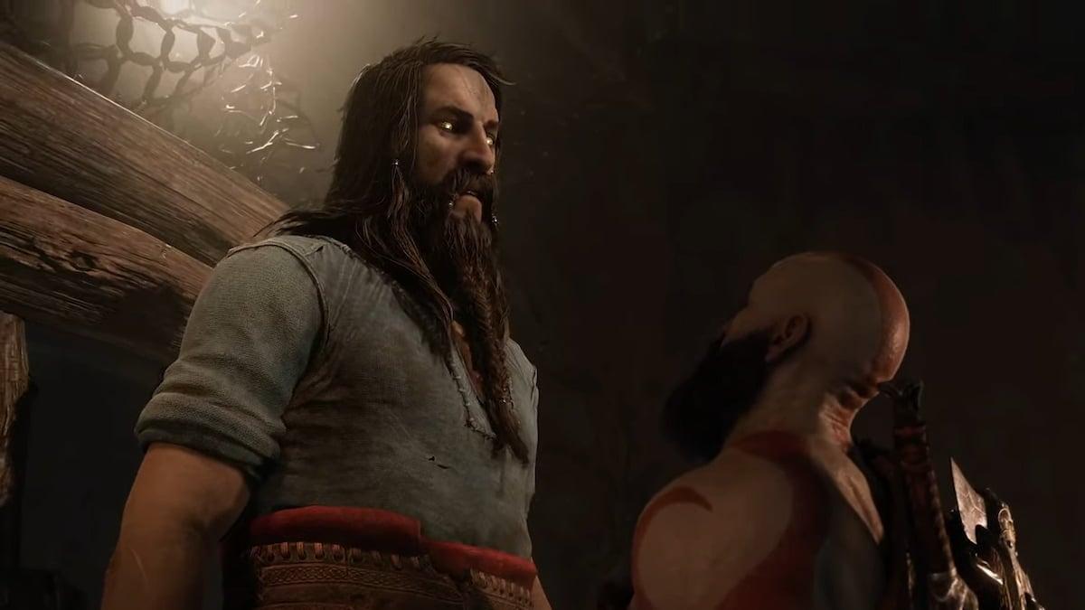 Tyr God of War Ragnarok