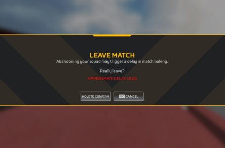 How Early Leaver penalties and warnings work in Apex Legends