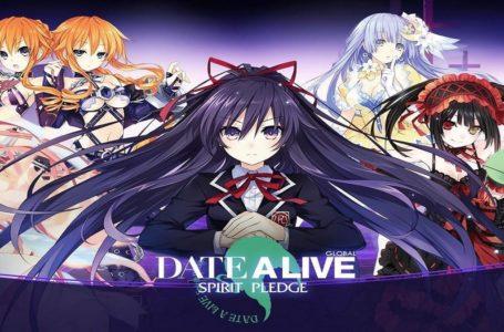 Date A Live: Spirit Pledge codes (September 2021)
