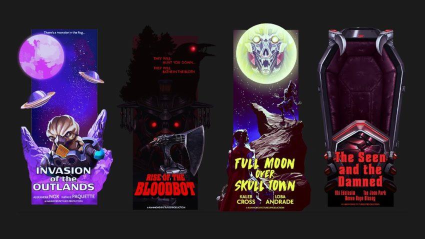 All Monsters Banner Frames