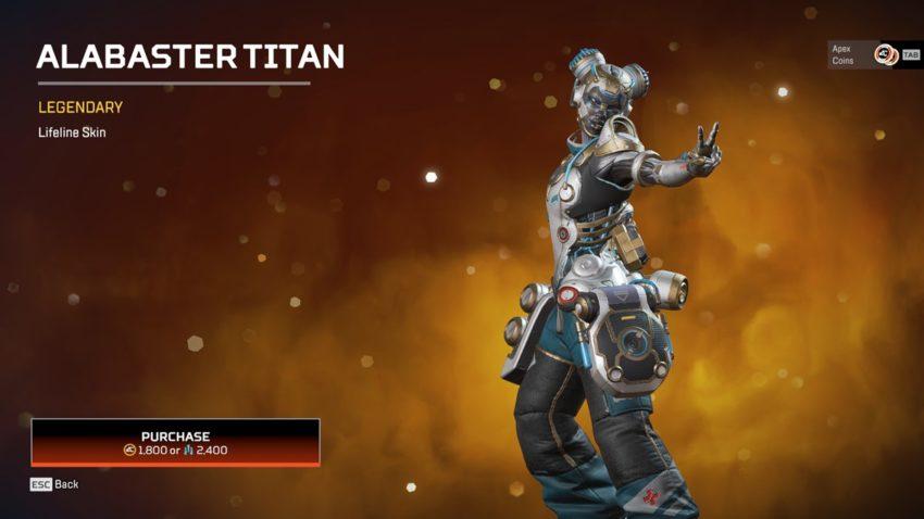 Alabaster Titan