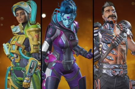 All Legend skins in the Evolution Collection Event for Apex Legends