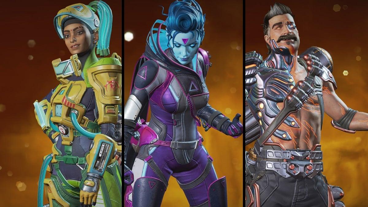 Evolution Collection Event Legend skins