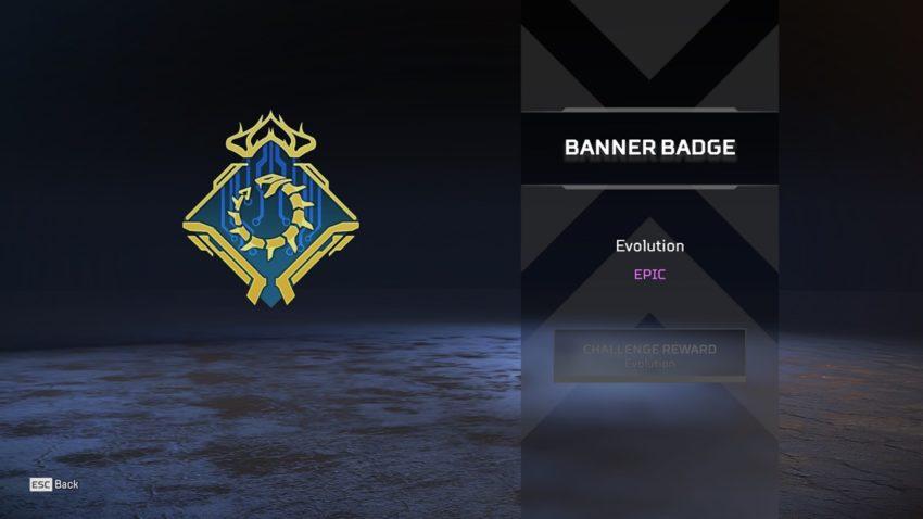 Evolution badge