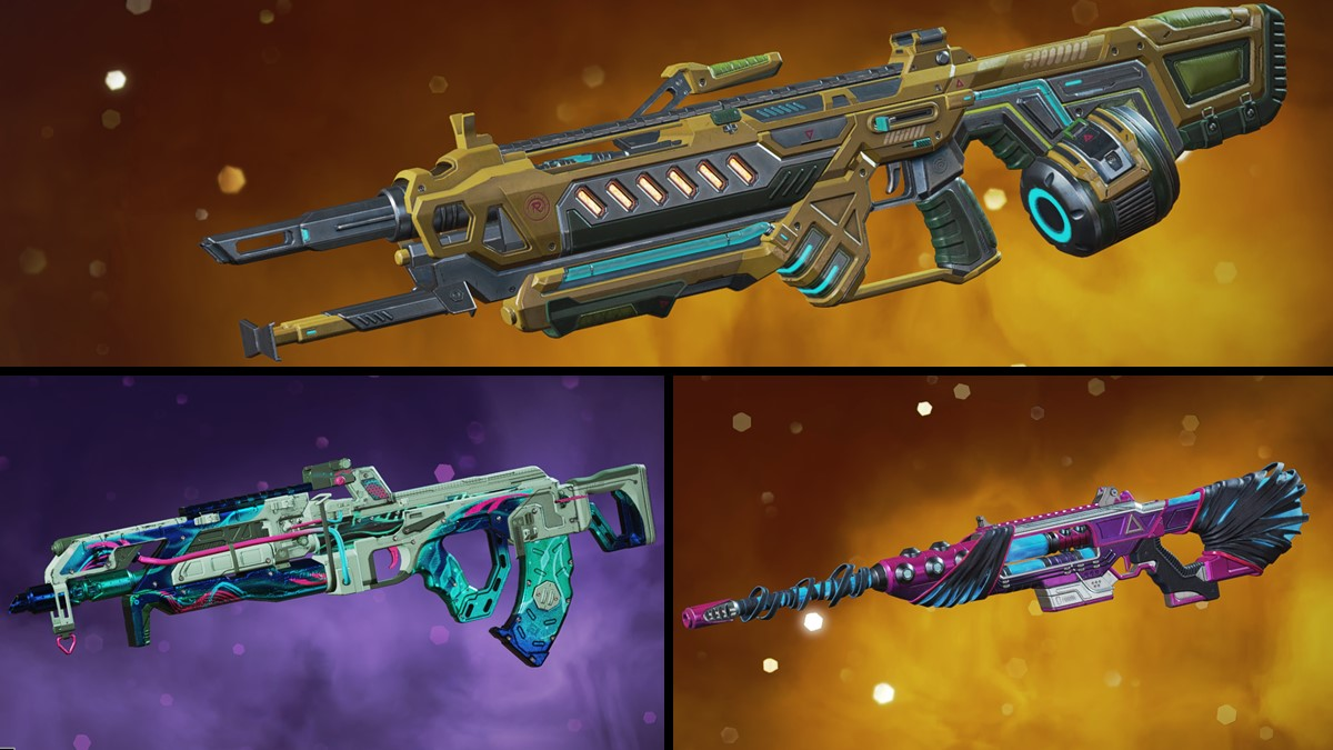 Evolution Collection Event weapon skins