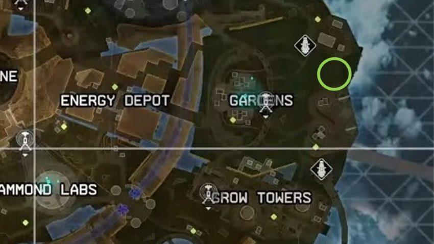 Pod on Olympus map