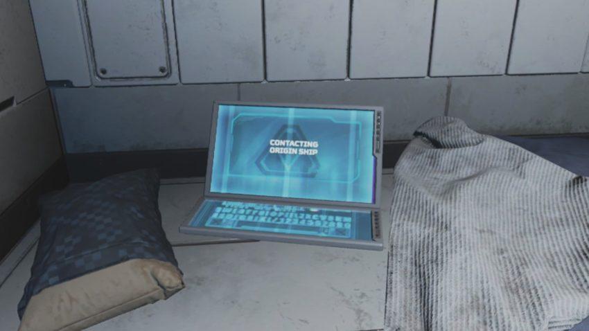 Computer Contacting Origin Ship