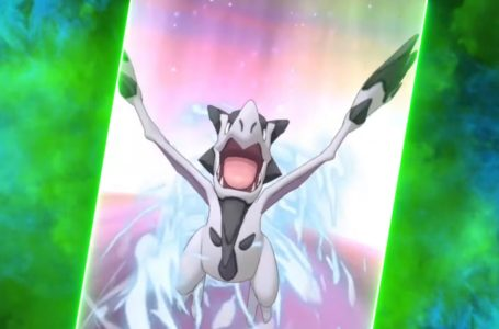 PokéFair Sync Pair Blue and Aerodactyl moves in Pokémon Masters EX