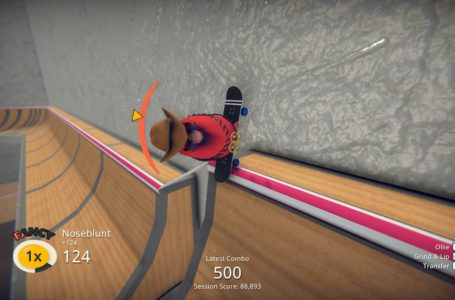 How to quickly build up a score multiplier in Skatebird