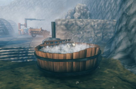 How to craft the hot tub in Valheim