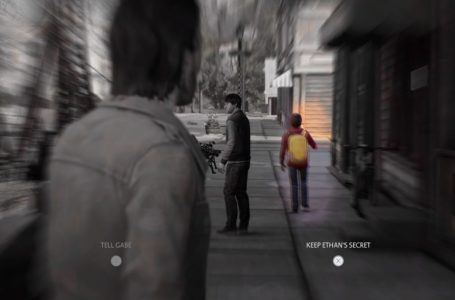 Should you keep Ethan's secret or tell Gabe in Life is Strange: True Colors