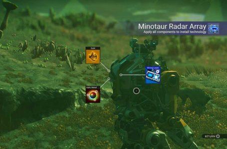 How to build the Minotaur Radar Array in No Man's Sky