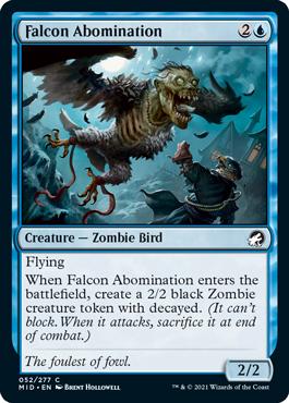 Falcon Abomination MTG Arena