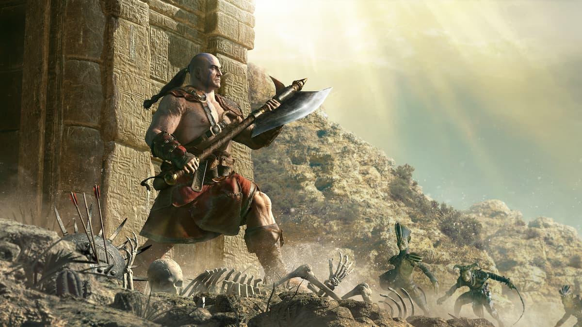 Diablo 2 Barbarian