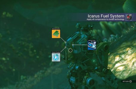 How to build the Icarus Fuel System for your Minotaur in No Man's Sky