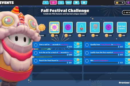 How to complete the Fall Festival Challenge in Fall Guys