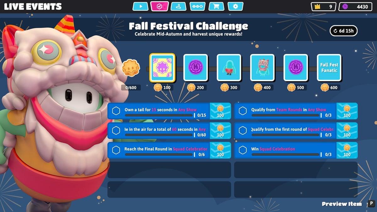 Fall Festival Challenge