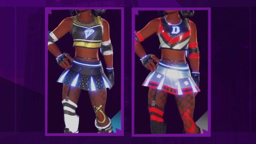 Cheerleader Diamond Dashers, Chrome