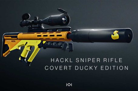 How to unlock the Hackl Sniper Rifle Covert Ducky Edition in Hitman 3