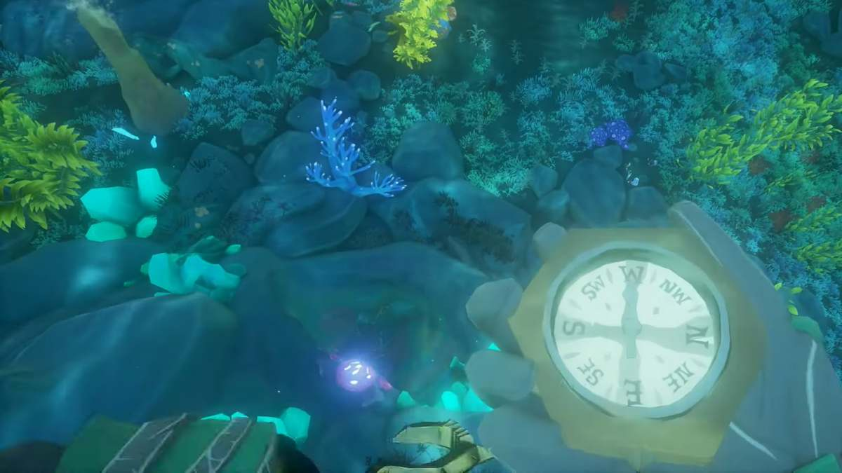 Sea of Thieves Shrine of the Coral Tomb guide