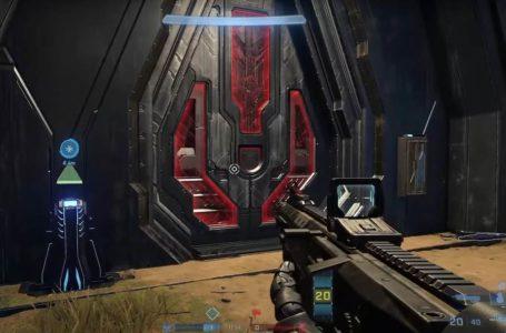Halo Infinite's Big Team Battle map Fragmentation has a loot cave