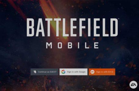 Battlefield Mobile alpha (early access) APK download link