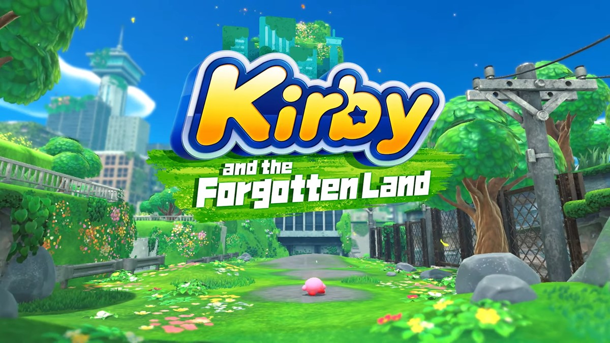 Kirby and the Forgotten Land logo