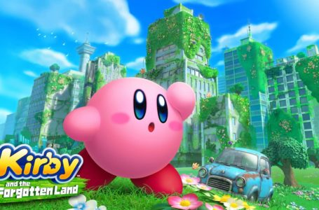 Kirby explores a new world in Kirby and the Forgotten Land