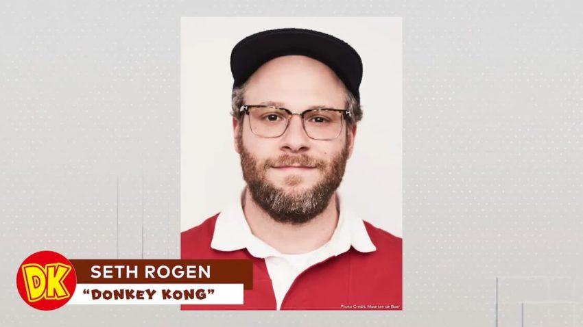 Seth Rogen Donkey Kong