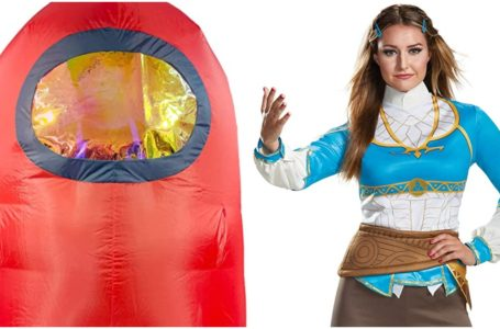 Best video game Halloween costumes 2021 – Among Us, Legend of the Zelda, Mario, Friday the 13th, and more
