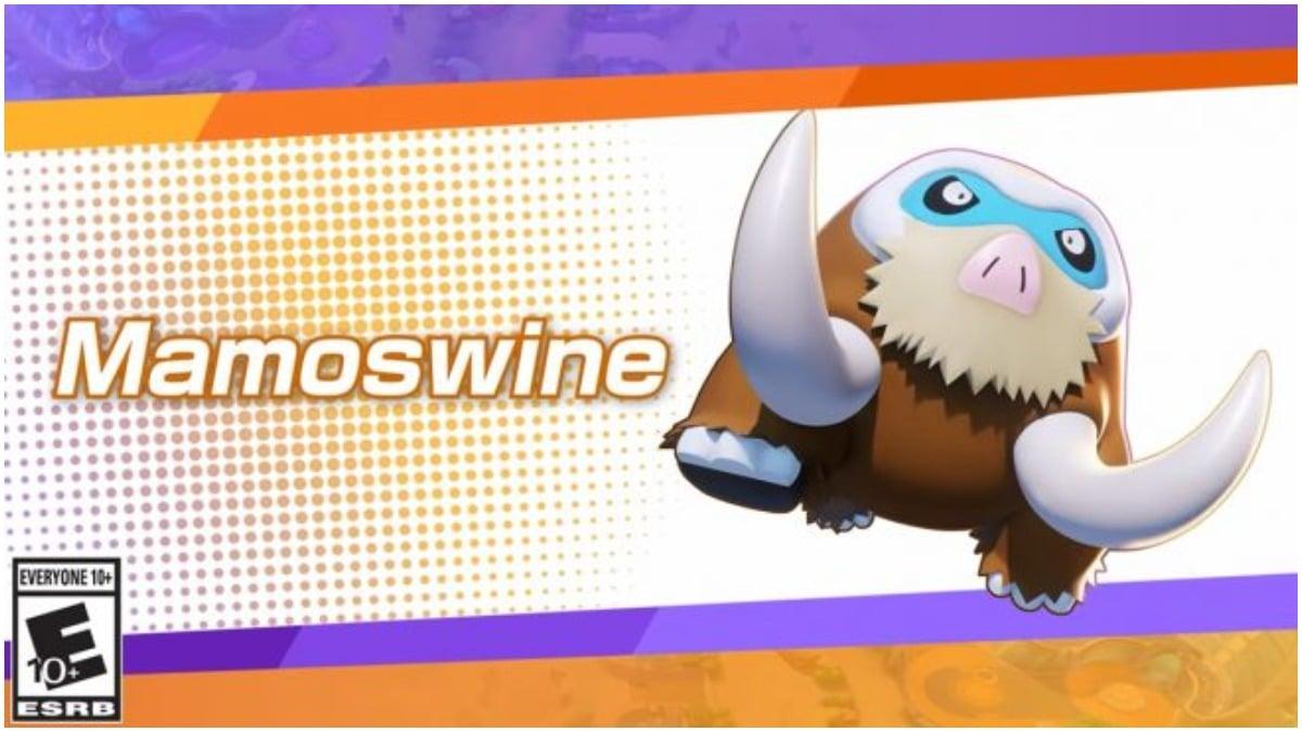 Official Announcement of Mamoswine in Pokemon Unite