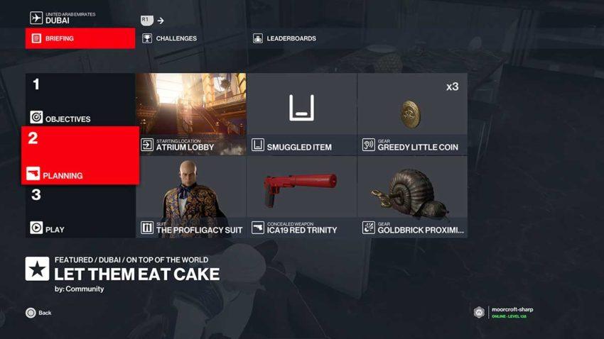 hitman-3-let-them-eat-cake-loadout