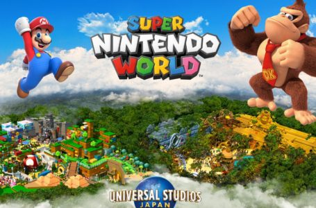 Super Nintendo World at Universal Studios Japan is expanding with Donkey Kong