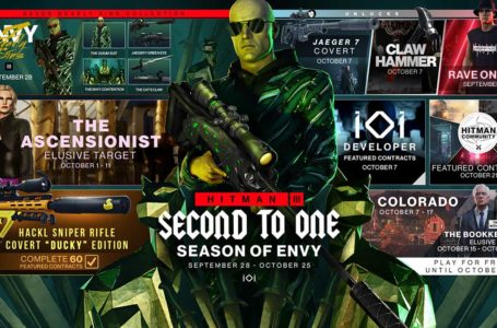 Hitman 3 Season of Envy roadmap – New weapons, Contracts, outfits, challenges, and more