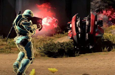 Halo Infinite's full menu leaks in video