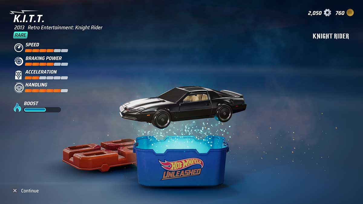 how-to-get-kitt-in-hot-wheels-unleashed
