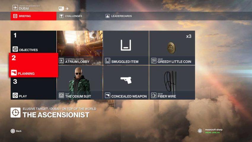 hitman-3-the-ascensionist-elusive-target-silent-assassin-guide-loadout