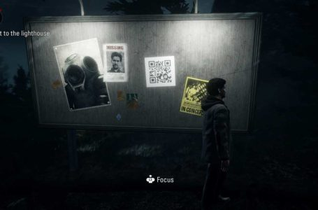 What are the QR codes in Alan Wake Remastered?