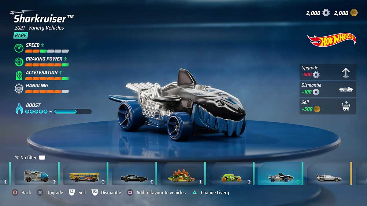 how-to-get-sharkruiser-in-hot-wheels-unleashed