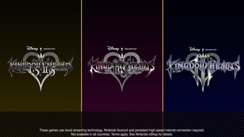 KH titles on Switch