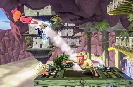 How to break falls by tech-landing in Nickelodeon All-Star Brawl