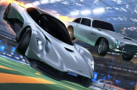 James Bond's Aston Martin Valhalla arrives in Rocket League later this week