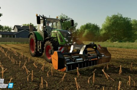 Farming Simulator 22 will introduce mulching and soil rolling to the series
