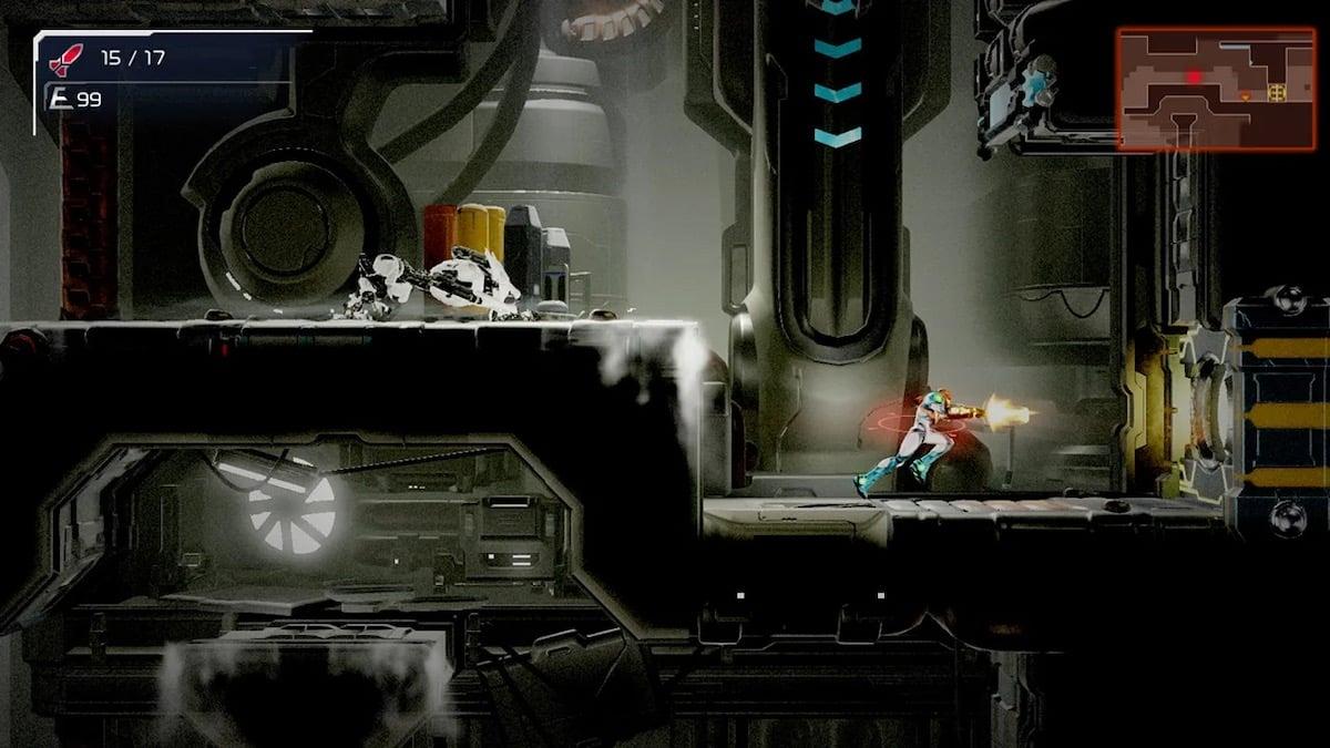 Official Screenshot of Metroid Dread