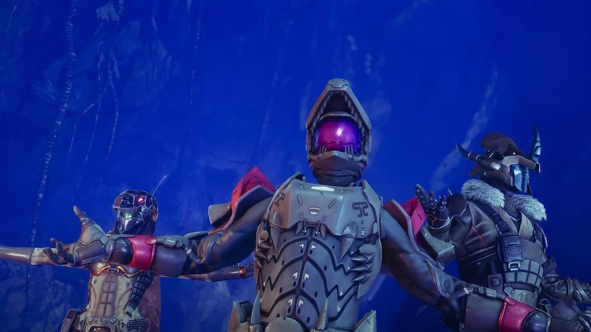 Dinosaur Armor in Destiny 2
