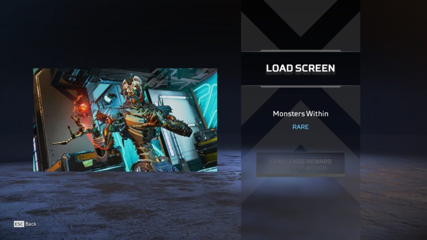 Monsters WIthin Load Screen