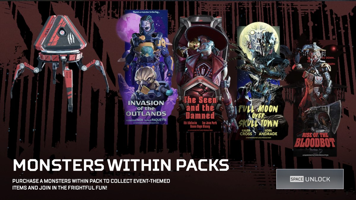 Monsters Within pack ad