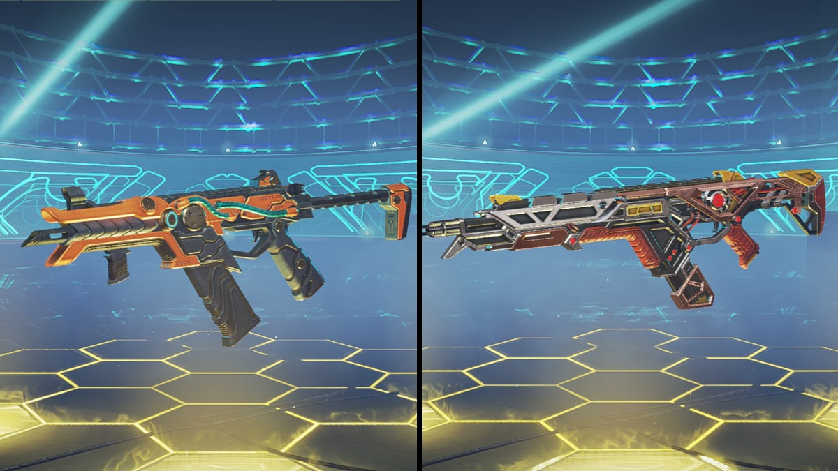 Monsters Within Weapon skins