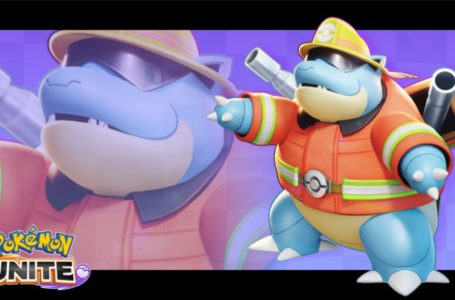 New Firefighter-based Holowear for Blastoise is available in Pokémon Unite right now